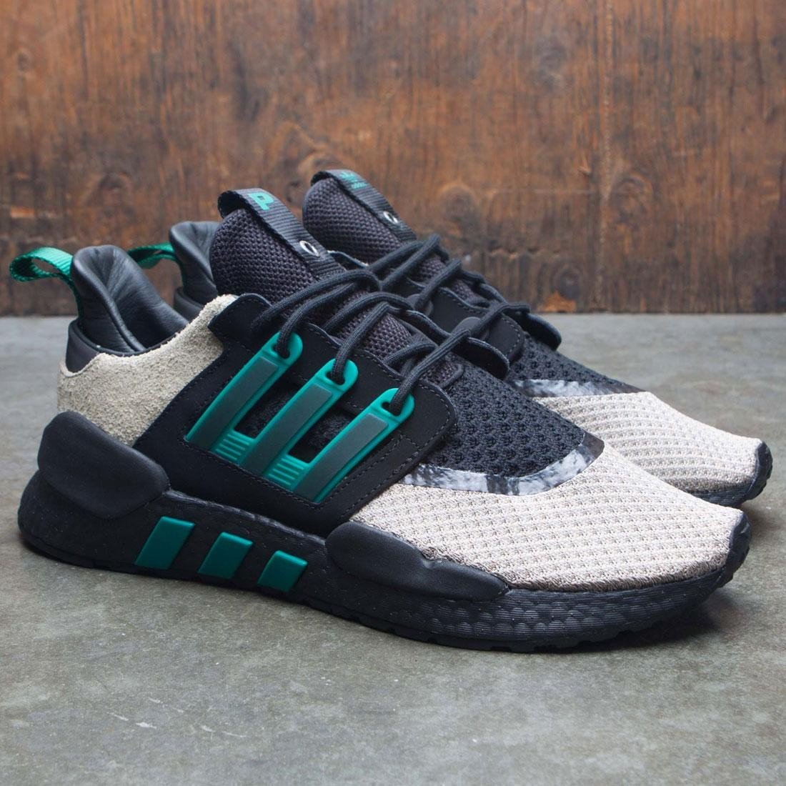 best sneakers 6c6f3 02821 Adidas Consortium x Packer Shoes Men EQT 91/18 (black / sub green / blanch  cargo)