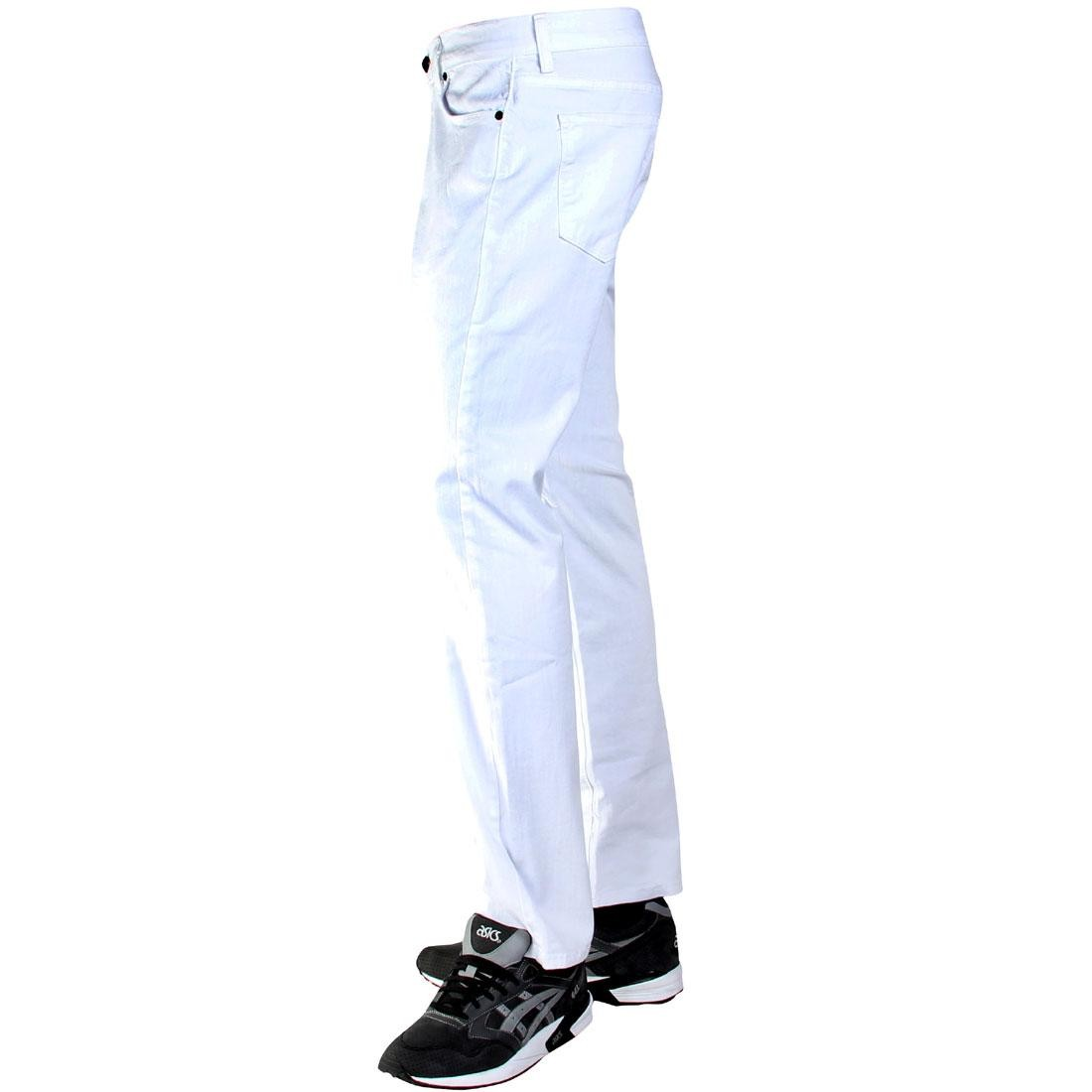 white BLKWD The Standard Jeans