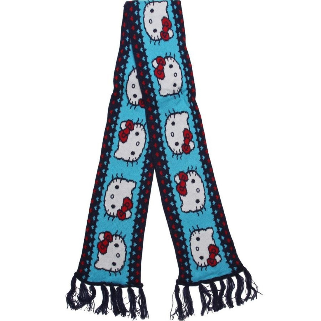 6e9b4301a Hello Kitty Hearts Scarf And Beanie Gift Pack (blue / navy) 1S