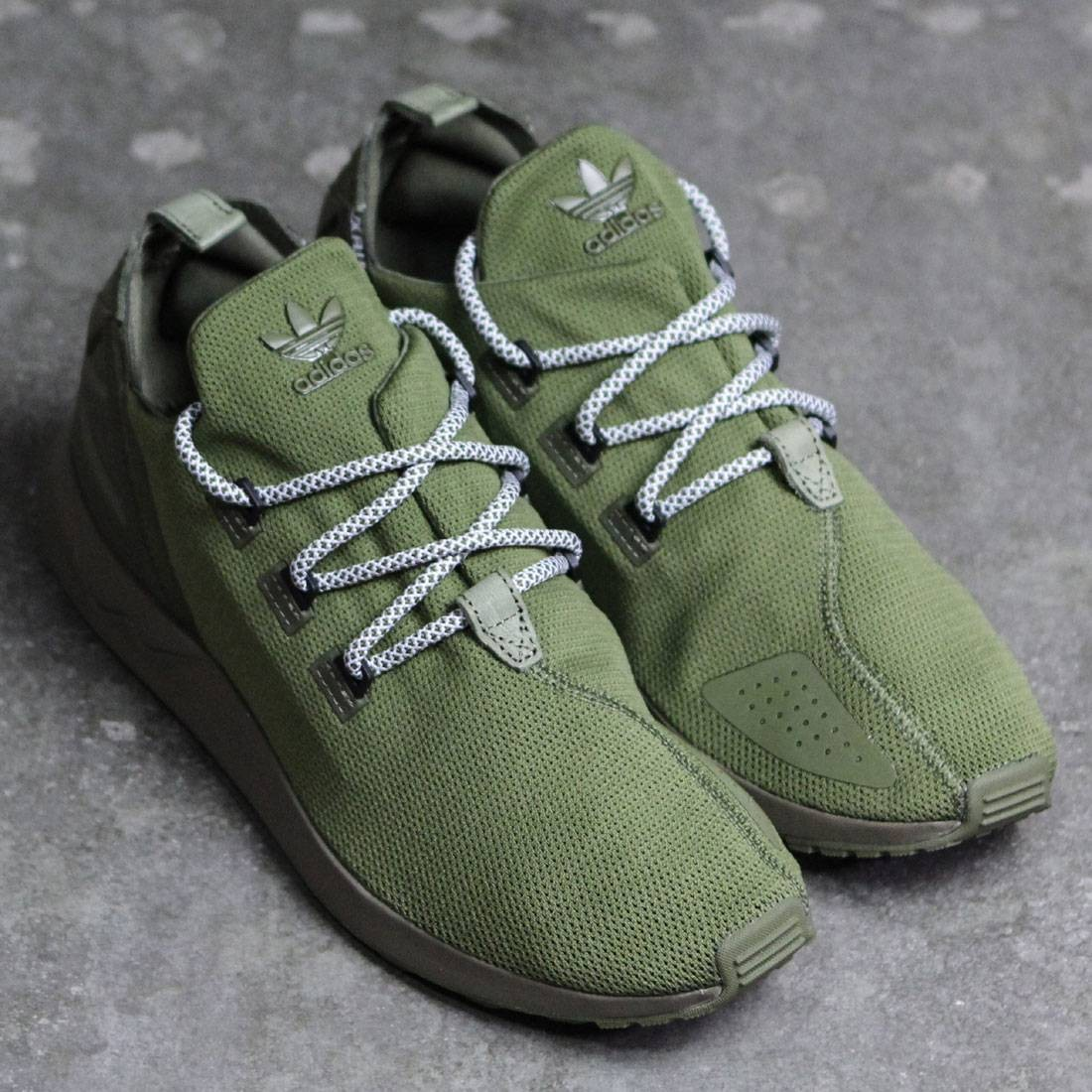 new products b93bf d4f5a Adidas Men ZX Flux ADV X (olive / olive cargo / core black / footwear white)