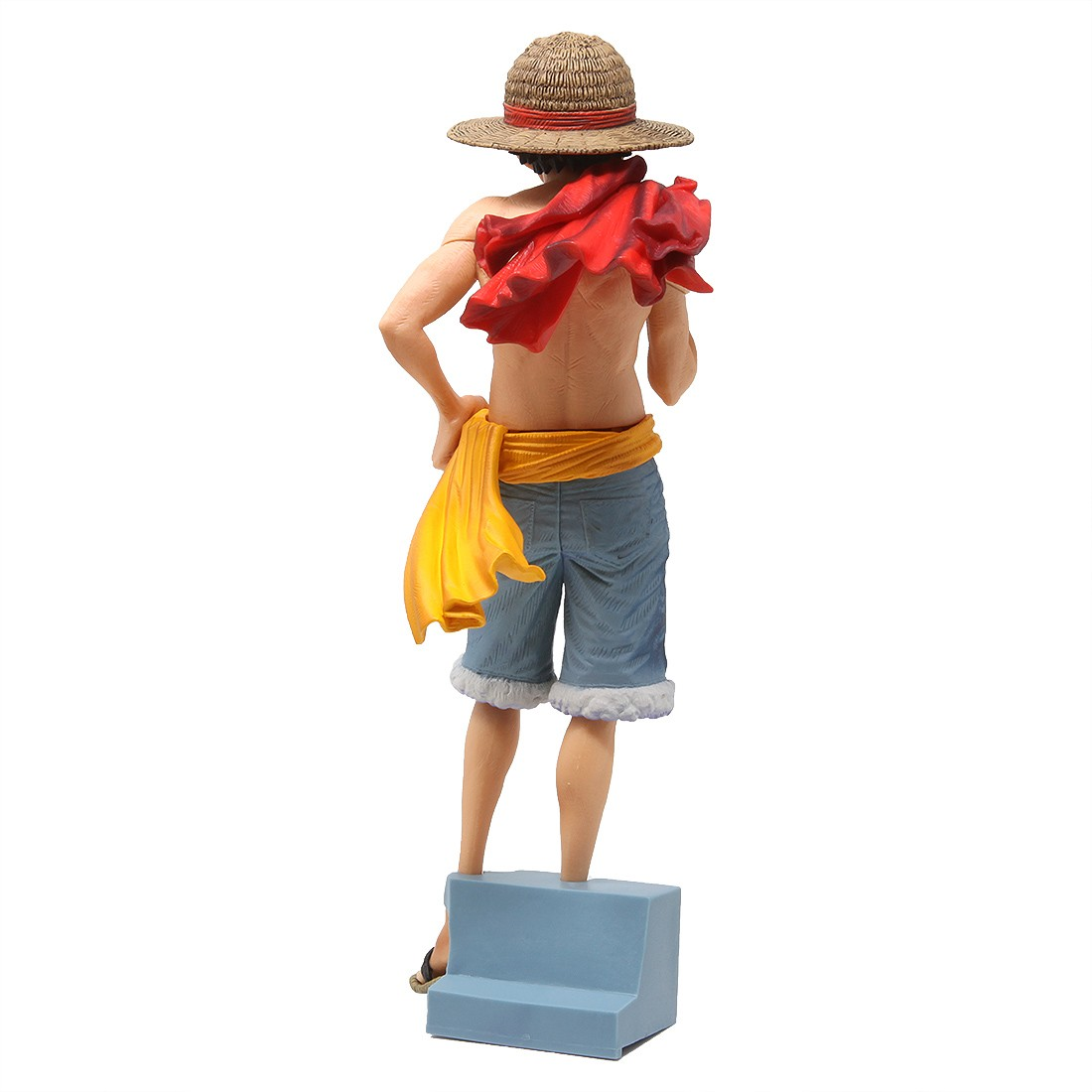 Banpresto One Piece Magazine Figure Vol 2 Monkey D Luffy Figure Tan