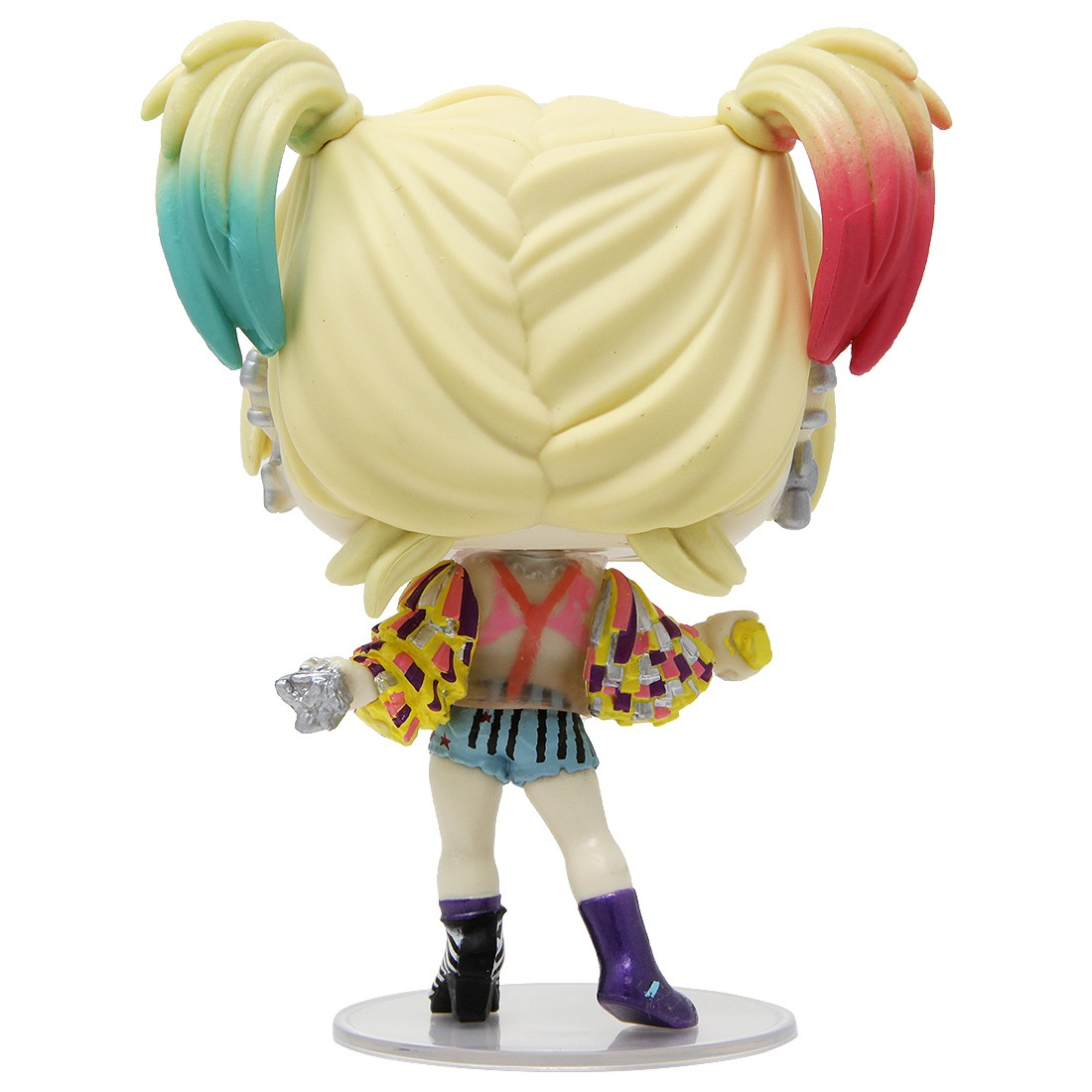 Funko Pop Heroes Birds Of Prey Harley Quinn Caution Tape With Collectible Card Entertainment Earth Exclusive Purple
