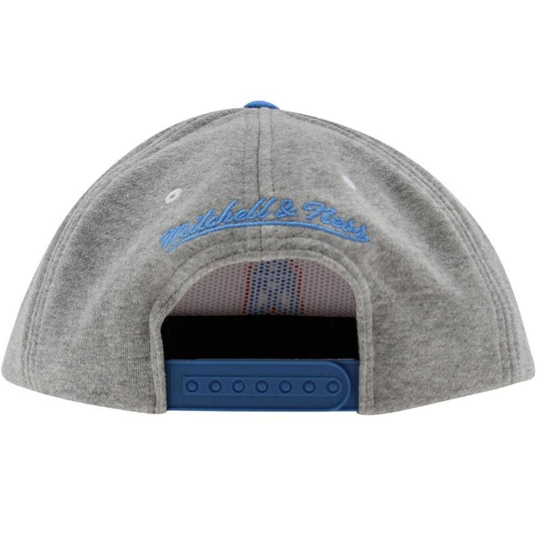 3456510673a Mitchell And Ness Houston Oilers NFL Heather Fleece 2 Toned ...