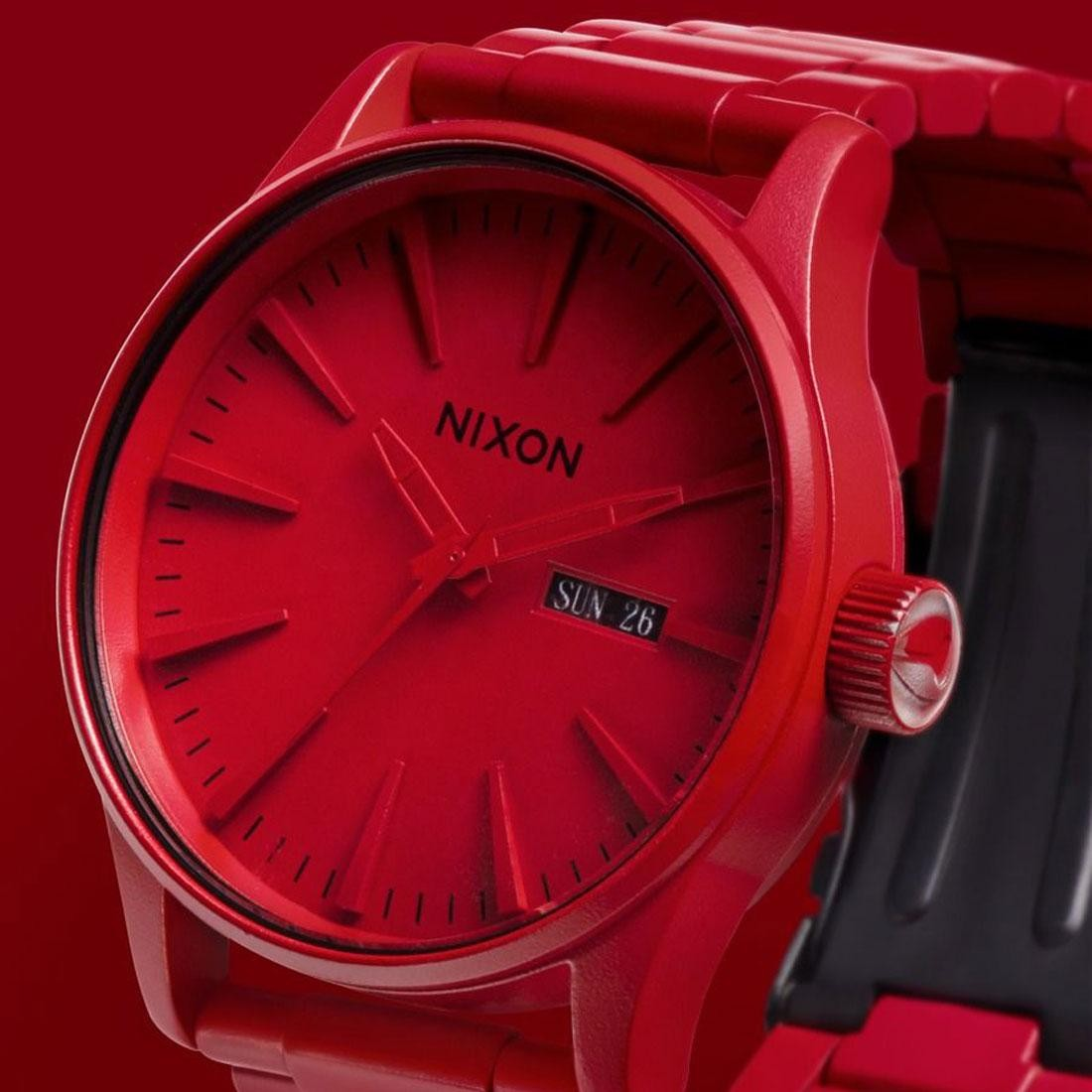 f3759d3c3a0 Nixon Sentry SS Watch - RED (red   all red)