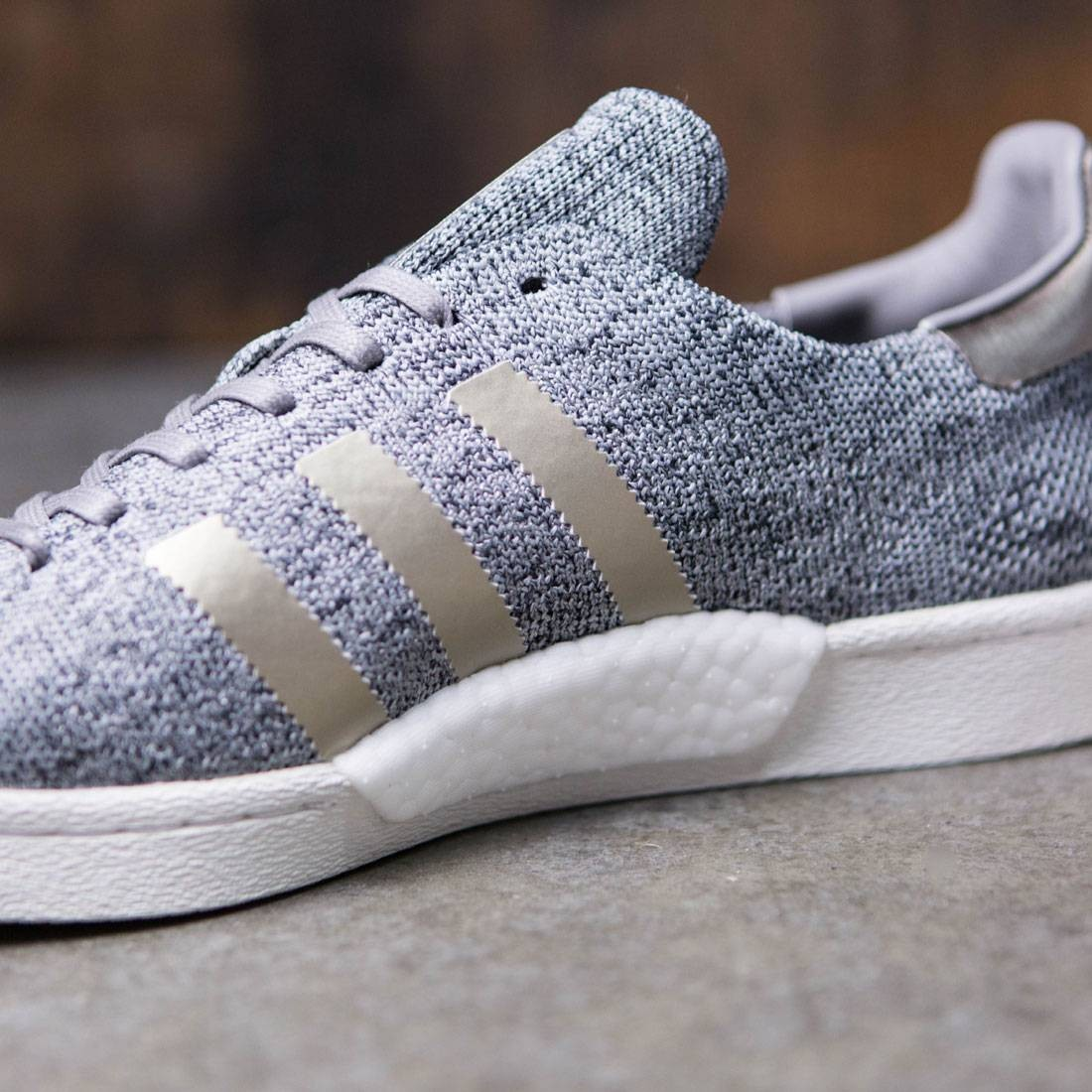 Adidas Men Superstar Boost Primeknit Noble Metal (gray solid grey)