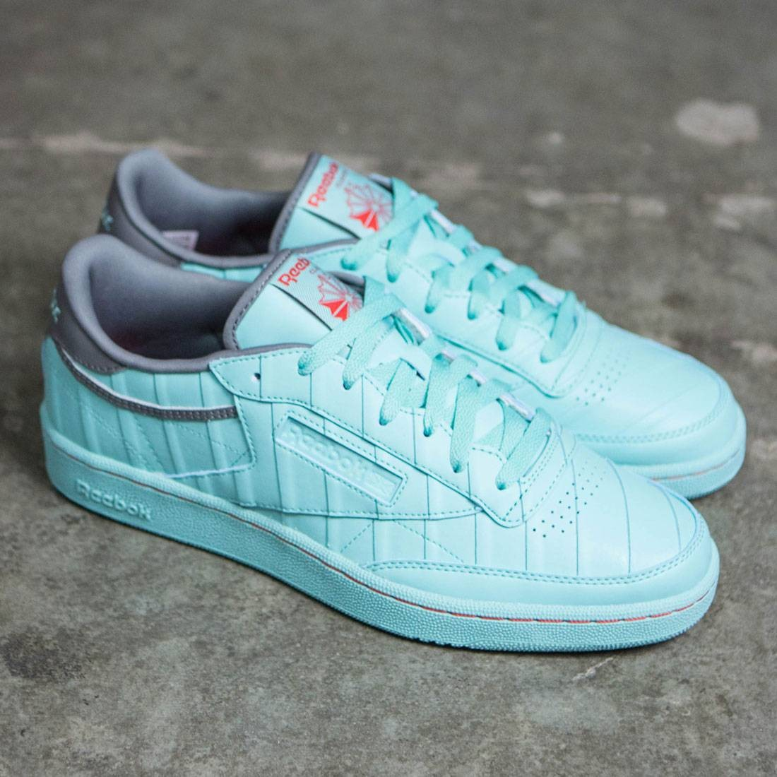 9598788b9 Reebok x Solebox Men Club C 85 - Year Of The Court (teal / aqua vapor /  cyclone gray / techy red)