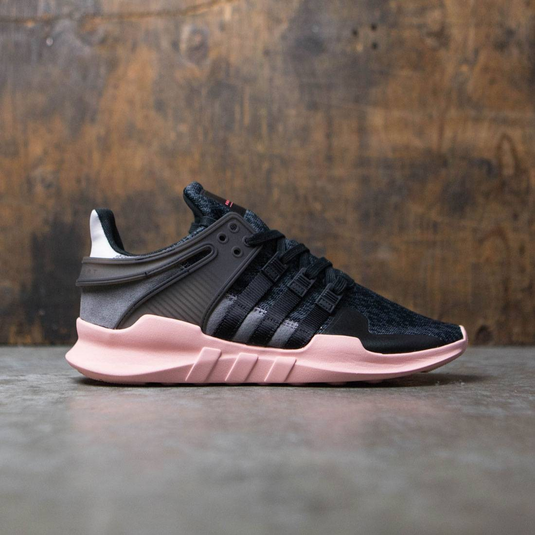 official photos 05d67 b249d Adidas Women EQT Support ADV black trace grey ice purple