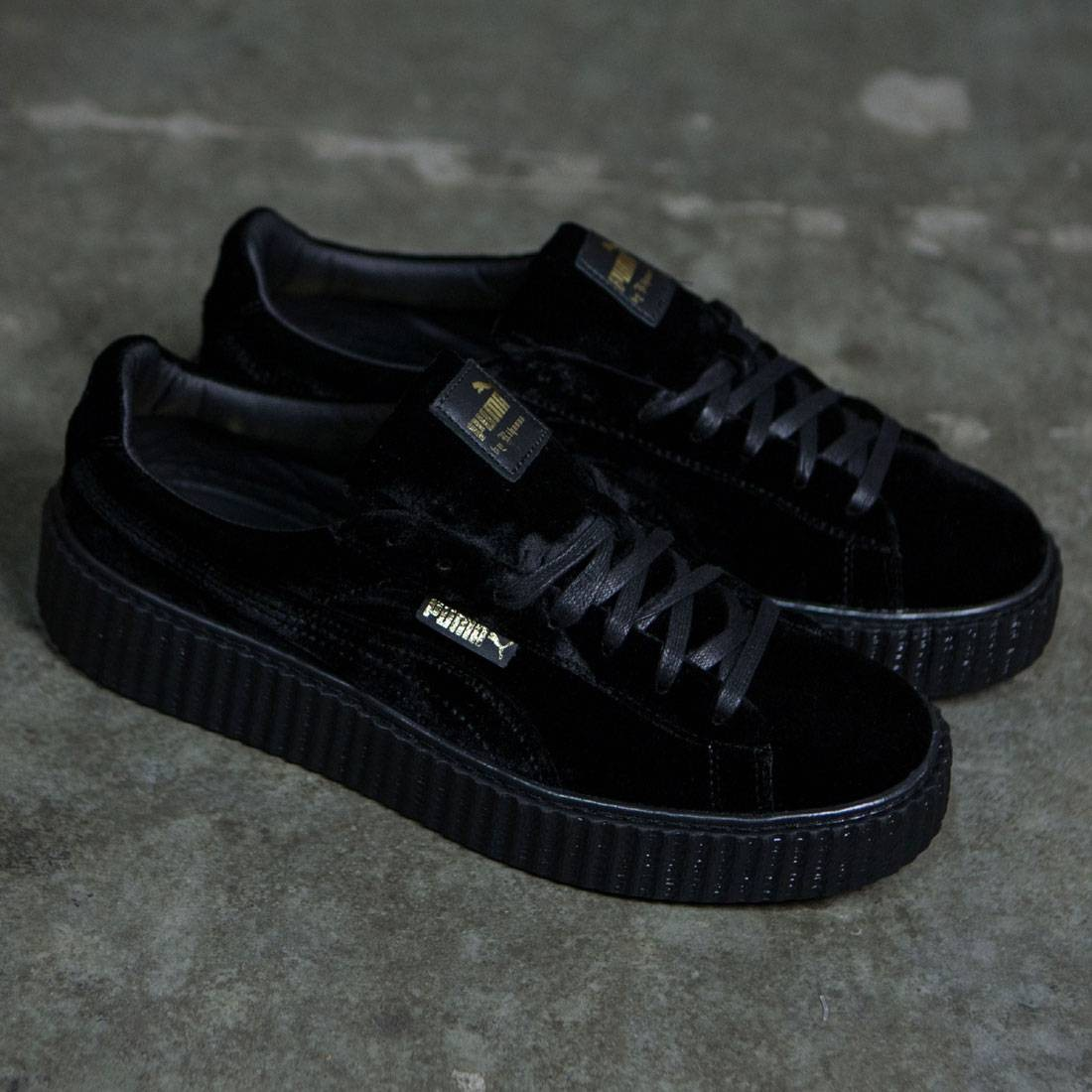 the best attitude f6501 f7770 Puma x Fenty By Rihanna Men Creeper Velvet (black / velvet)