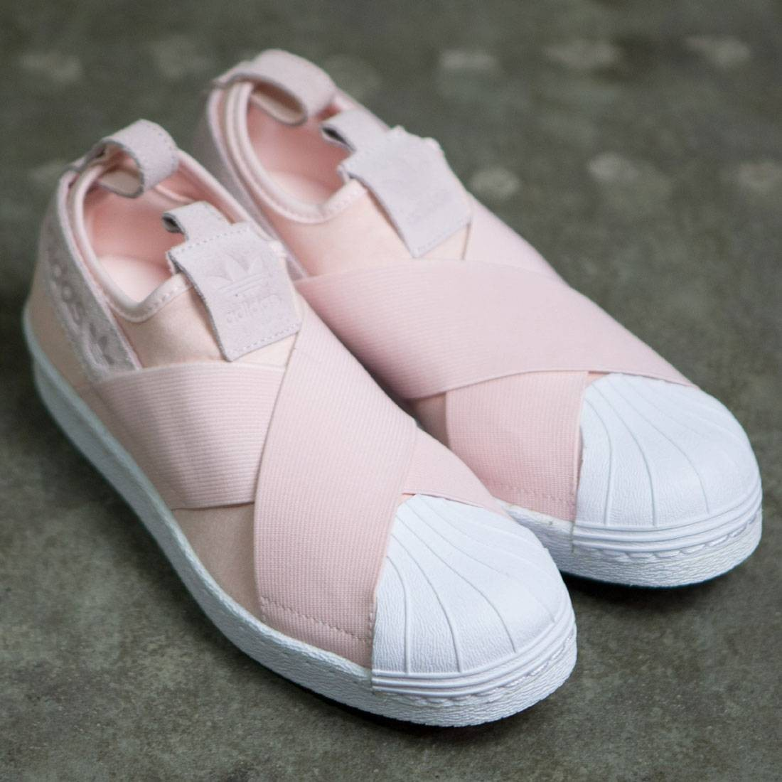 Adidas Women Superstar Slip-On (pink / halo pink / footwear white)