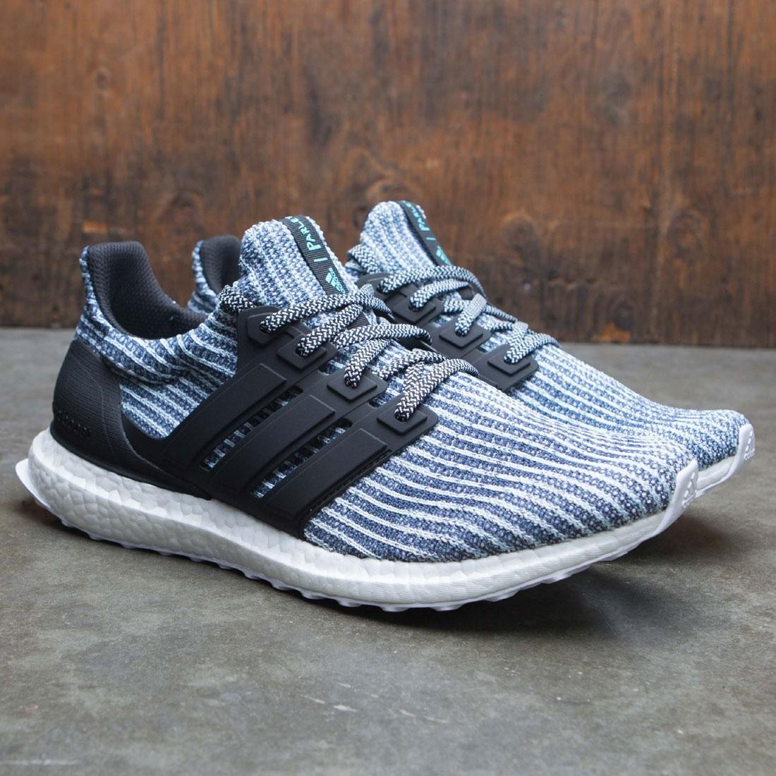 new product b70c0 9d7aa Adidas Men UltraBOOST Parley (white / carbon / blue spirit)