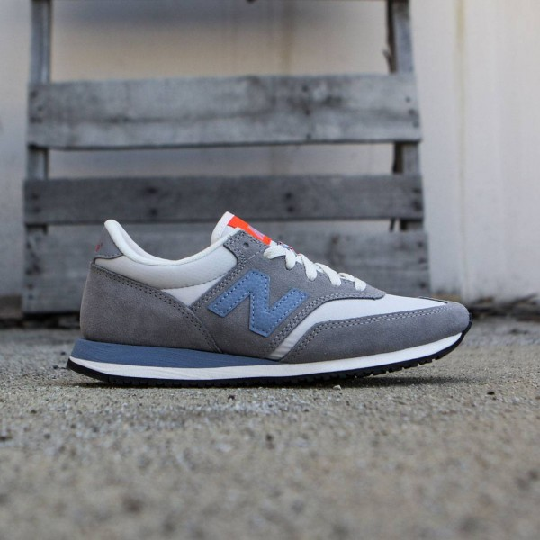 54453453fbc6 New Balance Women 620 Summit Suede CW620SMC gray steel icarus blue