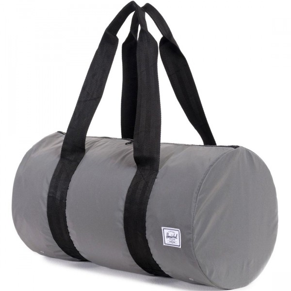 593e4f1bbd92 Herschel Supply Co Packable Duffle Bag silver silver reflective