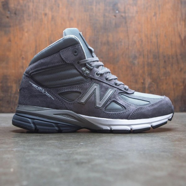 new style 191bb 67d49 New Balance Men 990v4 Mid MO990GR4 - Made In USA (gray / black)