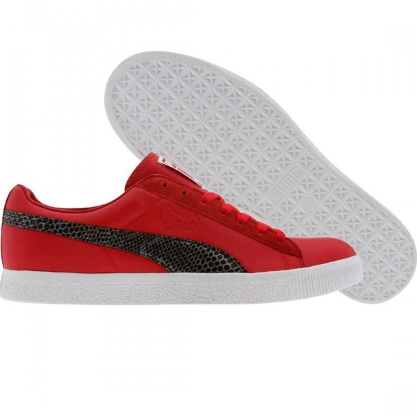 uk availability 9e6df 0fc69 Puma Clyde x UNDFTD - Snakeskin (ribbon red)