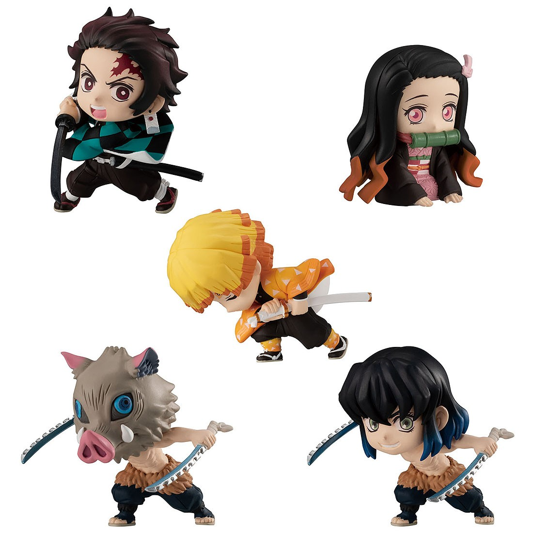 PREORDER - Bandai Demon Slayer Kimetsu no Yaiba Adverge Motion Set of 5 Figures (multi)