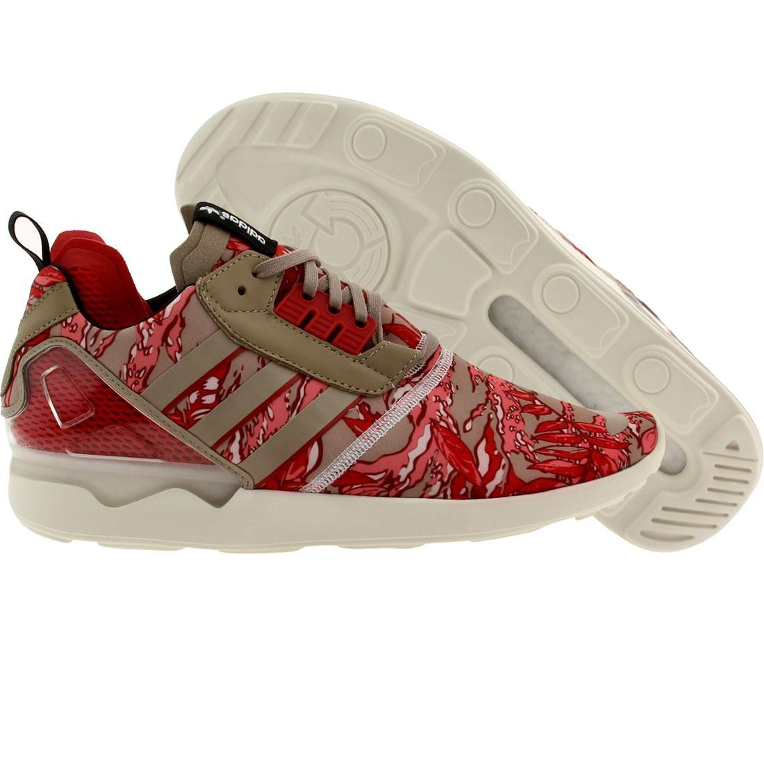 Adidas Men ZX 8000 Boost (pink / red / gray)