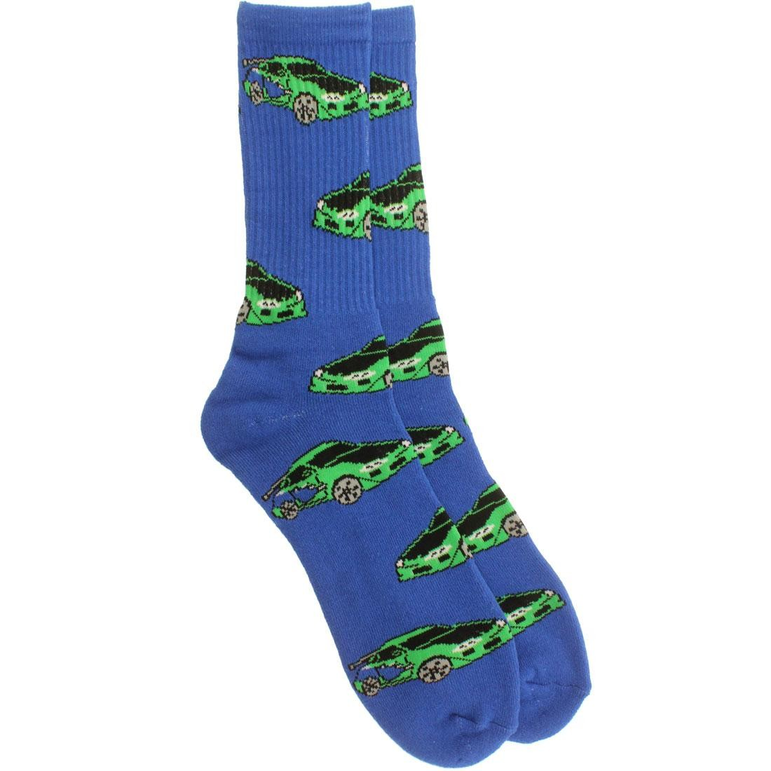 40s and Shorties Furiously Fast Socks (blue) 1S