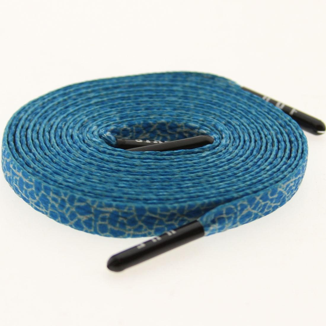 Quake Blue Shoelaces shoestrings 0003-45Inch-1S $6.00 Starks Laces x HUF