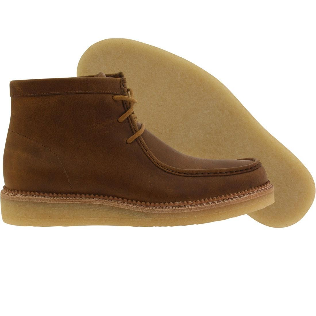 Clarks Men Beckery Hike (bronze / brown leather)