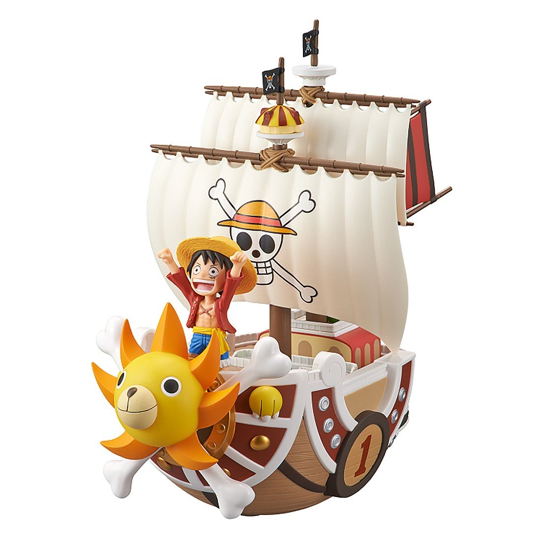 PREORDER - Banpresto One Piece Mega World Collectable Figure Special Thousand Sunny Figure Re-Run (tan)