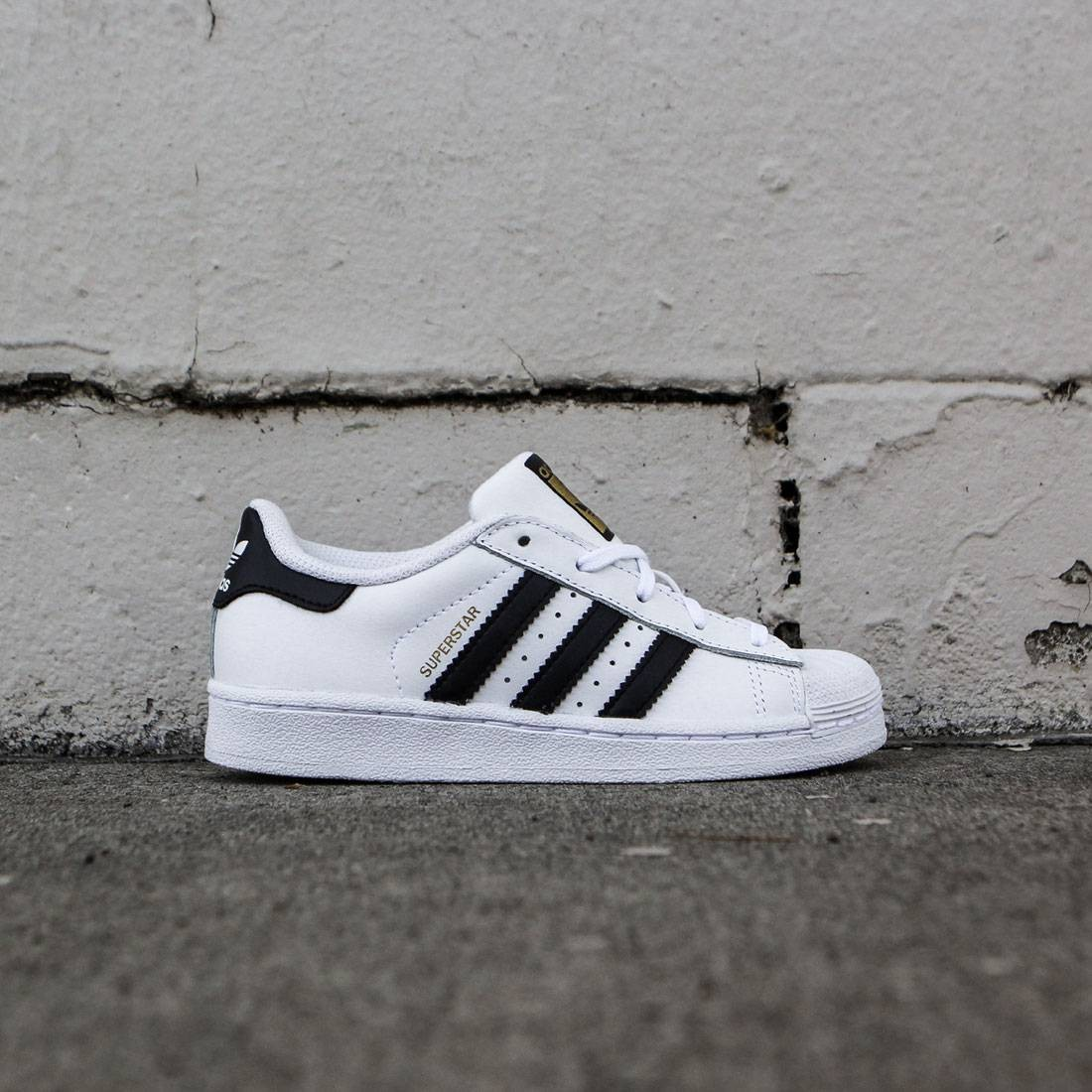 Adidas Little Kids Superstar Foundation C (white / core black)