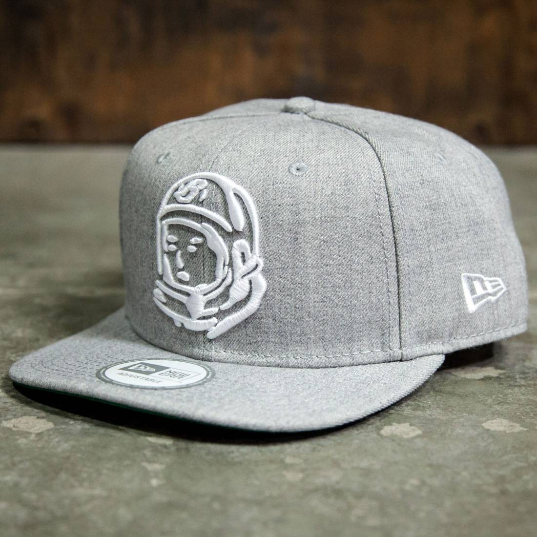 48efb1e5a1c Billionaire Boys Club Helmet Snapback Cap gray heather