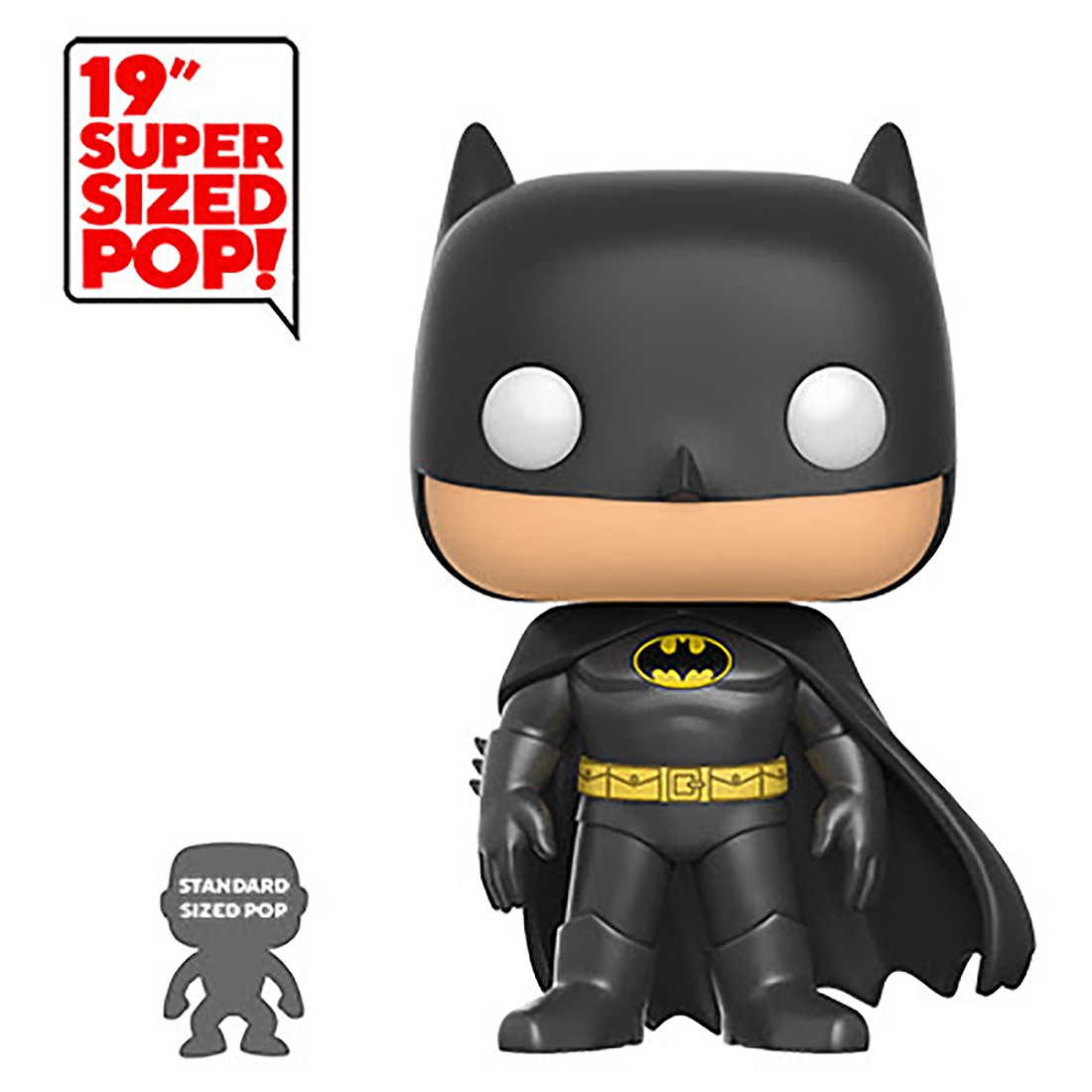 PREORDER - Funko POP Heroes DC 19 Inch Batman (black)