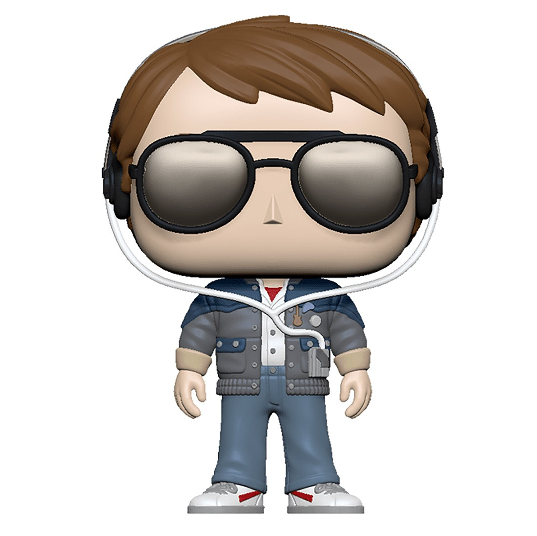 Funko POP Movies Back To The Future - Marty With Glasses (gray)