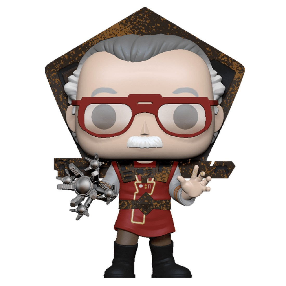Funko POP Icons Stan Lee In Ragnarok Outfit (red)