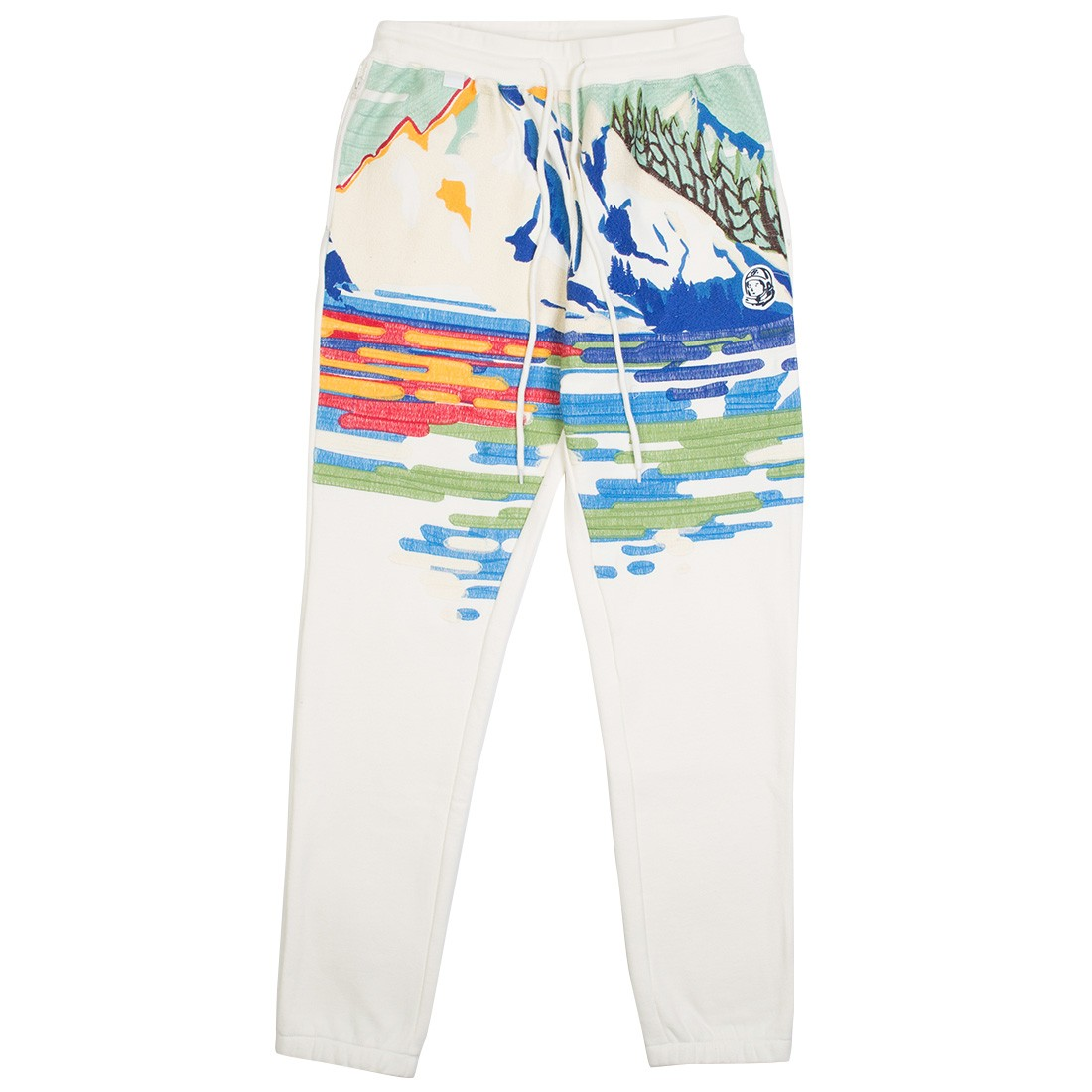 Billionaire Boys Club Men Waves Sweatpants (white / heather gray)