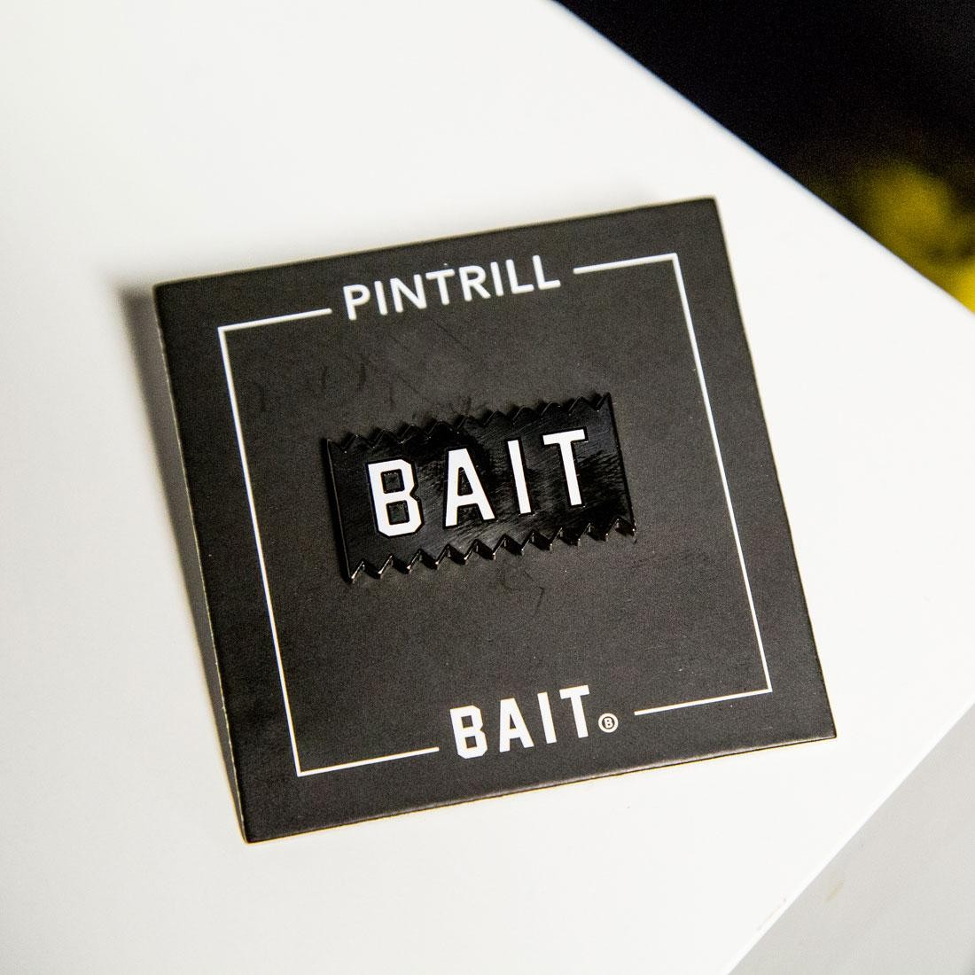 BAIT x Pintrill BAIT Logo Pin (black)