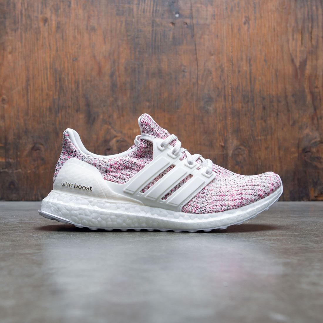 Adidas Women UltraBOOST W (white chalk pearl cloud white shock pink)