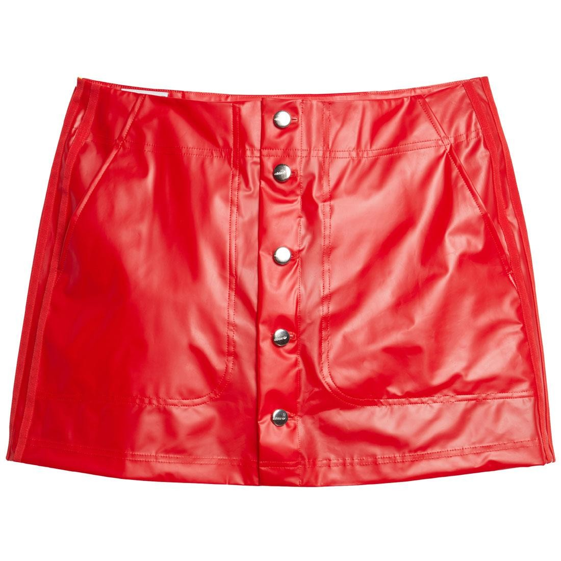 Adidas x Fiorucci Women Kiss Mini Skirt (red)