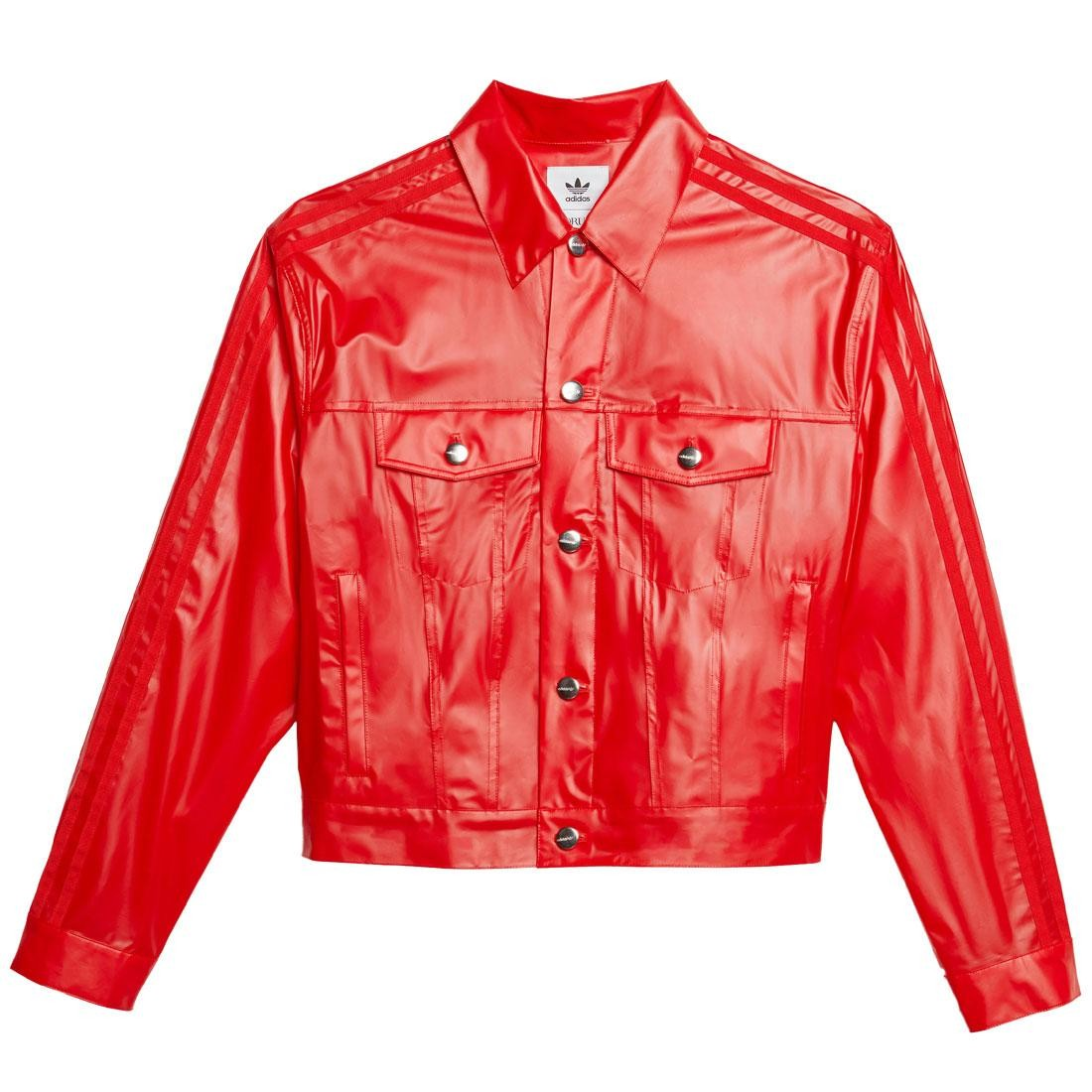Adidas x Fiorucci Women Kiss Jacket (red)