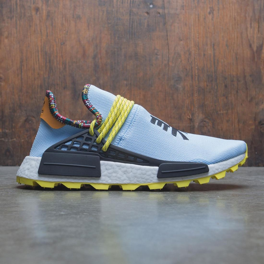 Adidas x Pharrell Williams Men Solar HU NMD (blue / core black / bright orange)