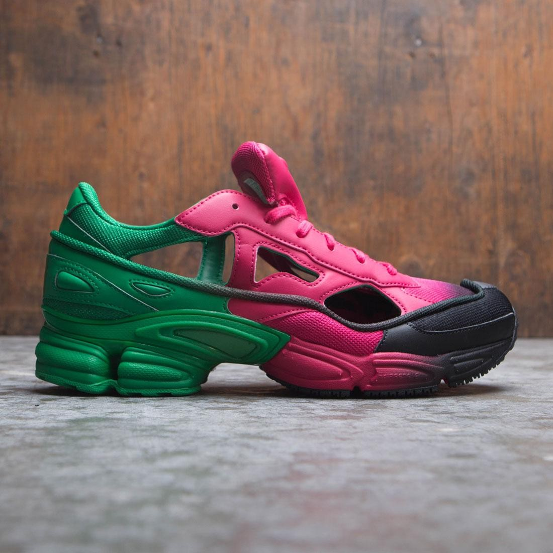 Adidas Raf Simons Men Replicant Ozweego (pink / green / core black)