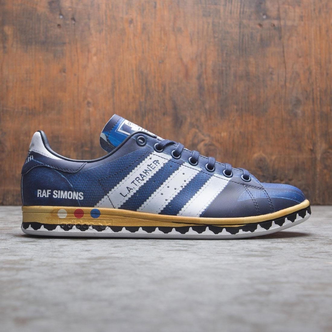 Adidas Raf Simons Men LA Stan (navy / legend ink / silver metallic / night navy)
