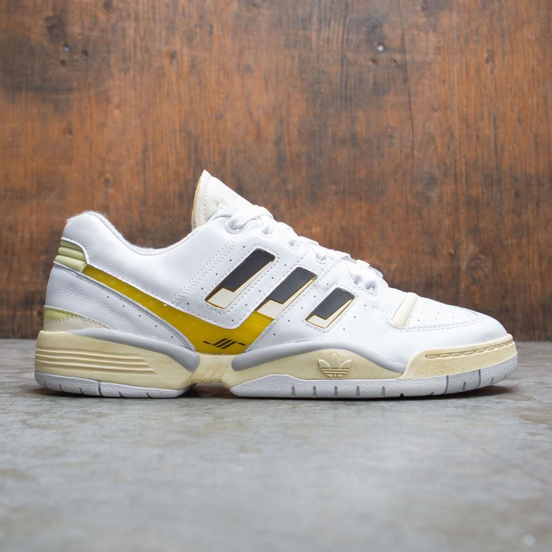 Adidas Consortium x Highs And Lows Men Torsion Edberg (white / core black / blush yellow)