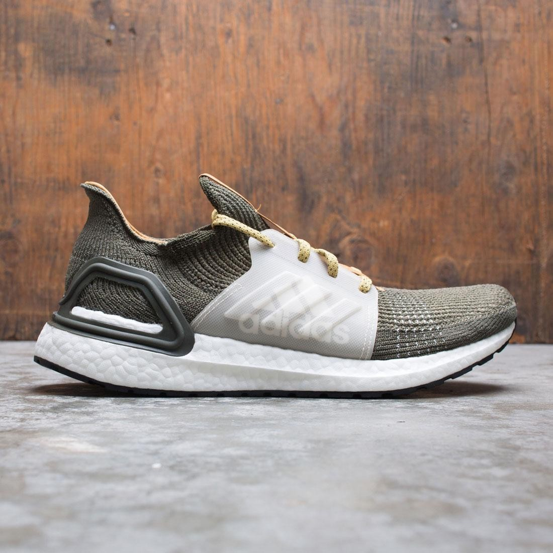Adidas Consortium x Wood Wood Men UltraBOOST 19 (olive / earth green / mesa / linen)