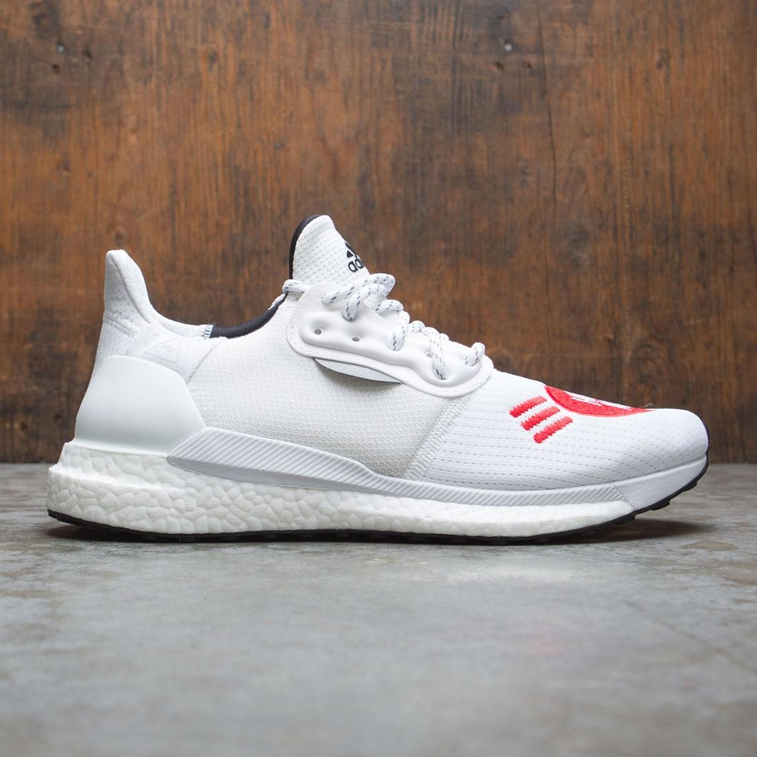 Adidas x Pharrell Williams Men Solar HU Human Made (white / core black / scarlet)