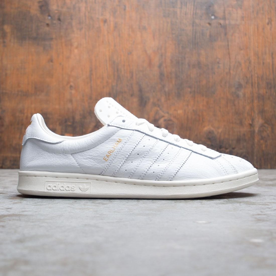 Adidas Men Earlham SPZL (white / core white / gold metallic)