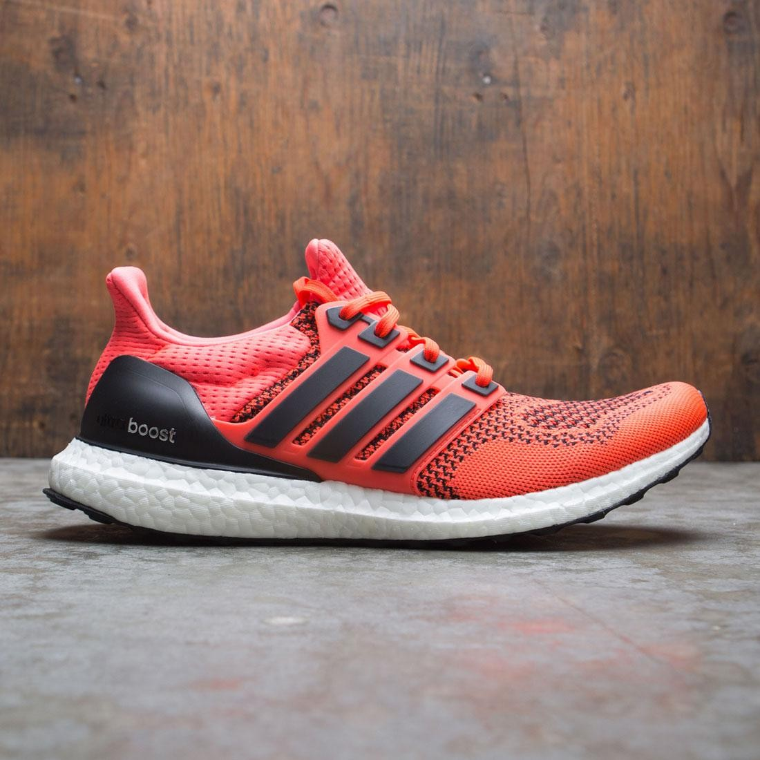 Adidas Men UltraBOOST (red / core black / solar red)