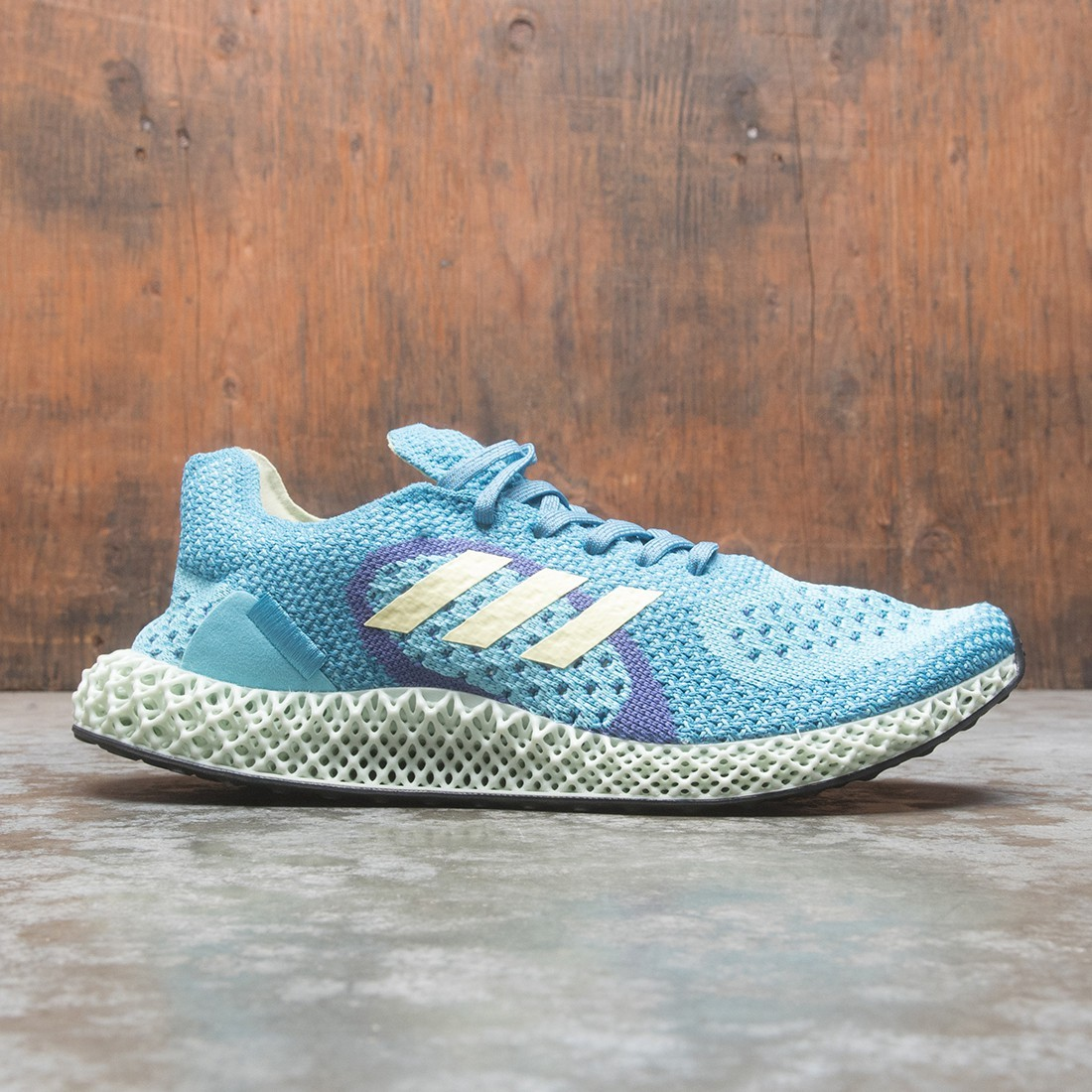 Adidas Men ZX Carbon (blue / light aqua / yellow tint / purple)