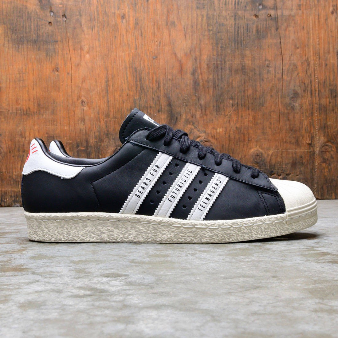 Adidas x Human Made Men Superstar 80s (black / core white / off white)