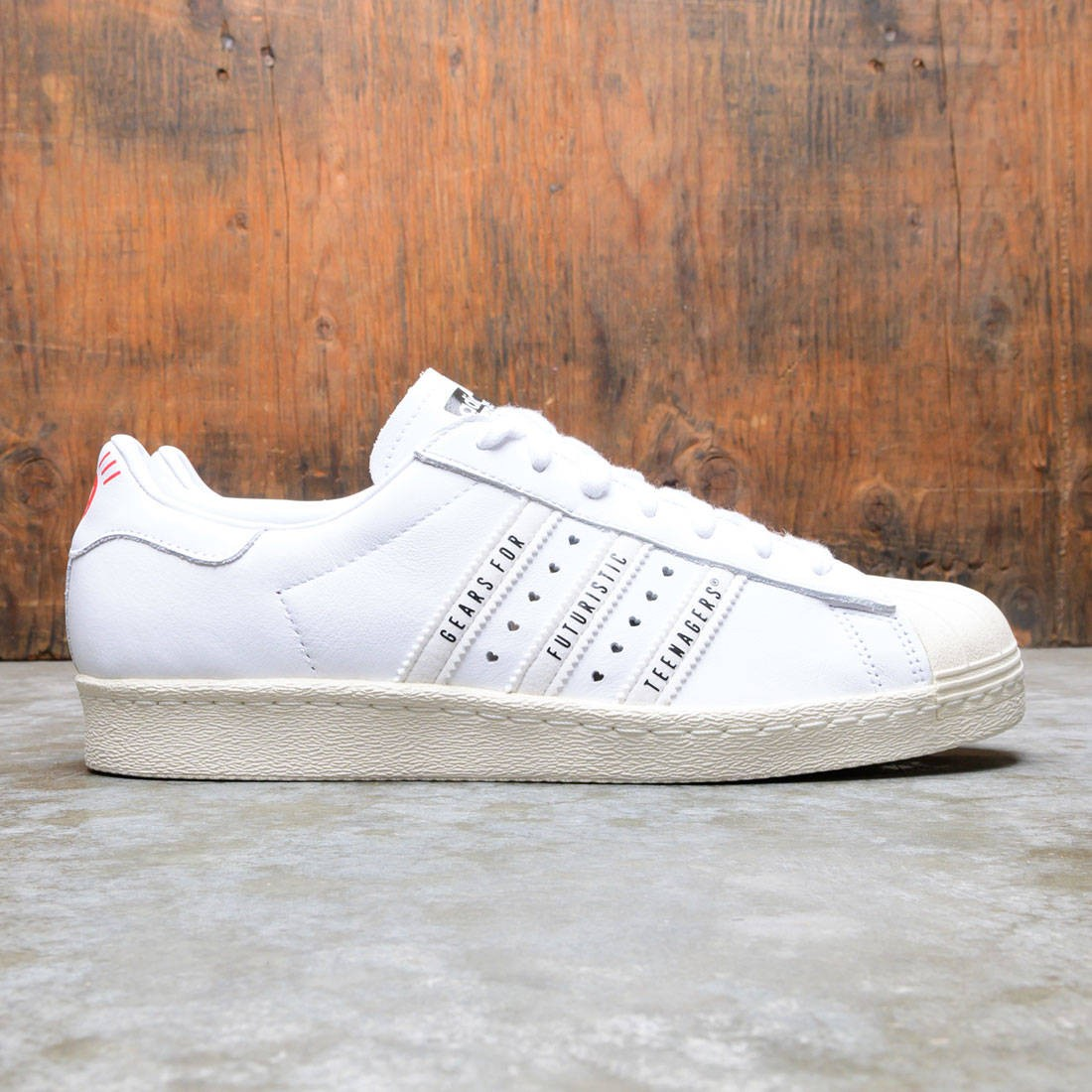 Adidas x Human Made Men Superstar 80s (white / core white / off white)