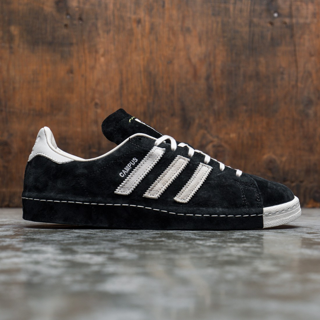 Adidas x Recouture Men Campus 80s Shun Hirose (black / chalk white / dark blue)