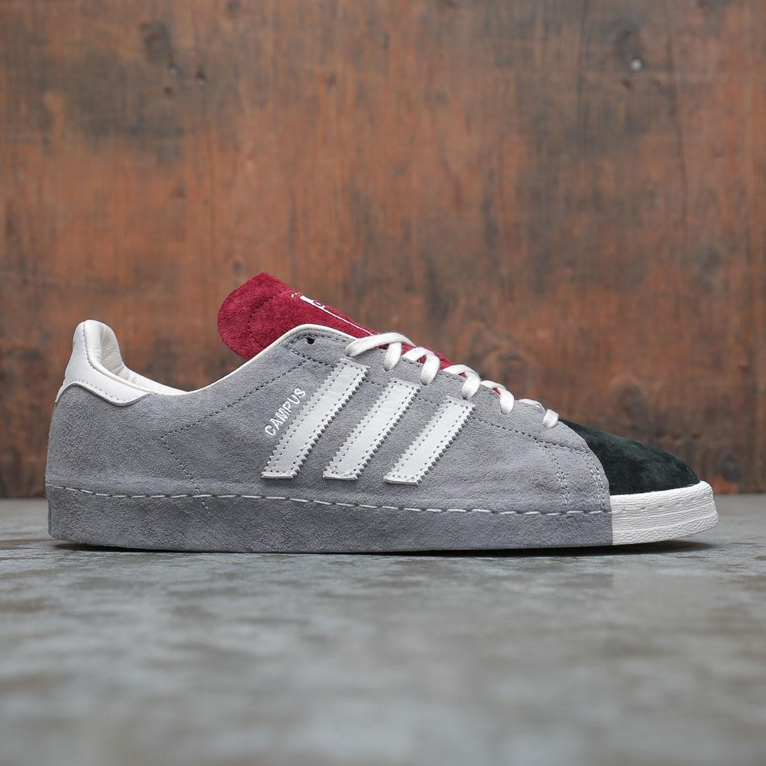 Adidas x Recouture Men Campus 80s Shun Hirose (gray / chalk white / core black)