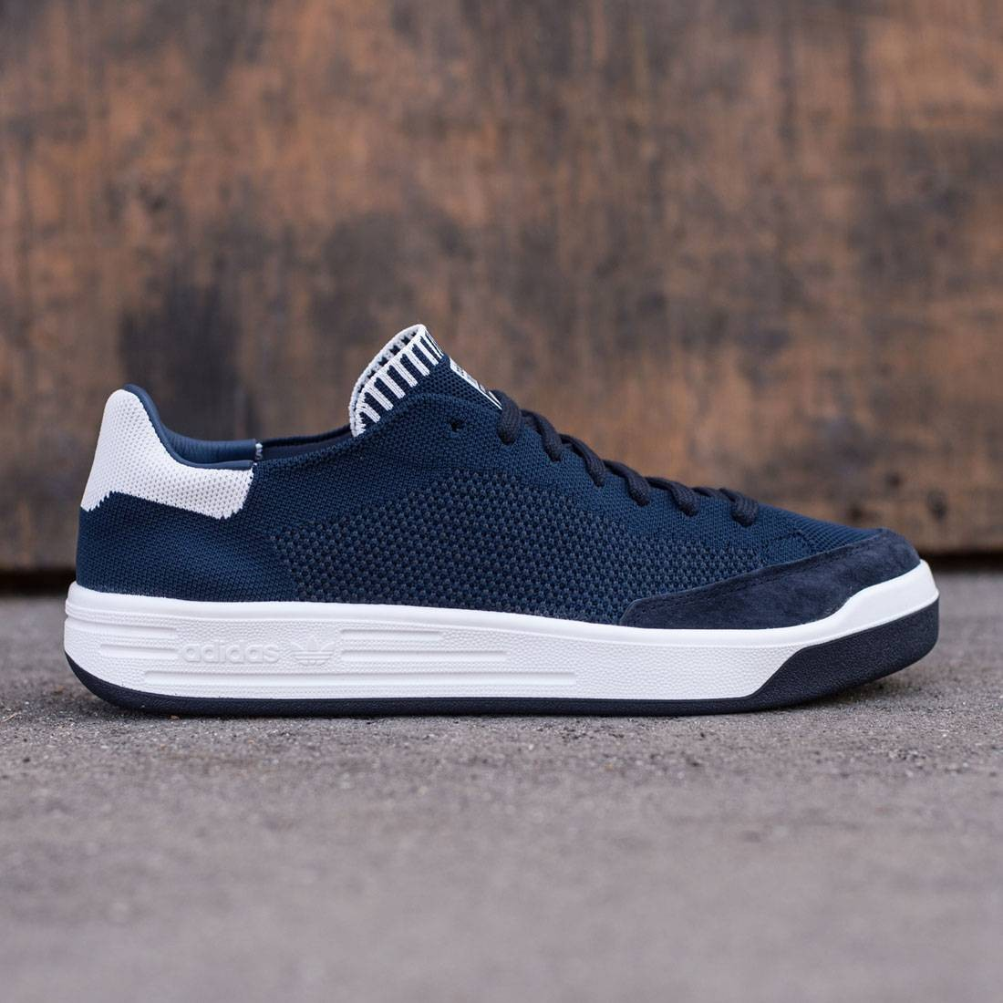 Adidas Men Rod Laver Super Primeknit (navy / collegiate navy / vintage white)