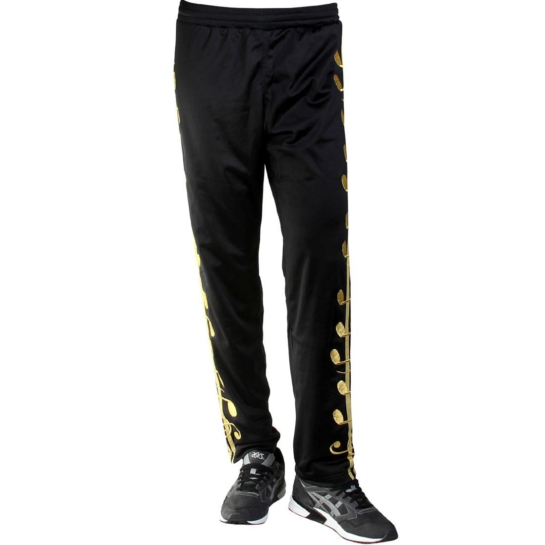 Adidas ObyO Music Note Track Pants - Jeremy Scott (black / goldmt)