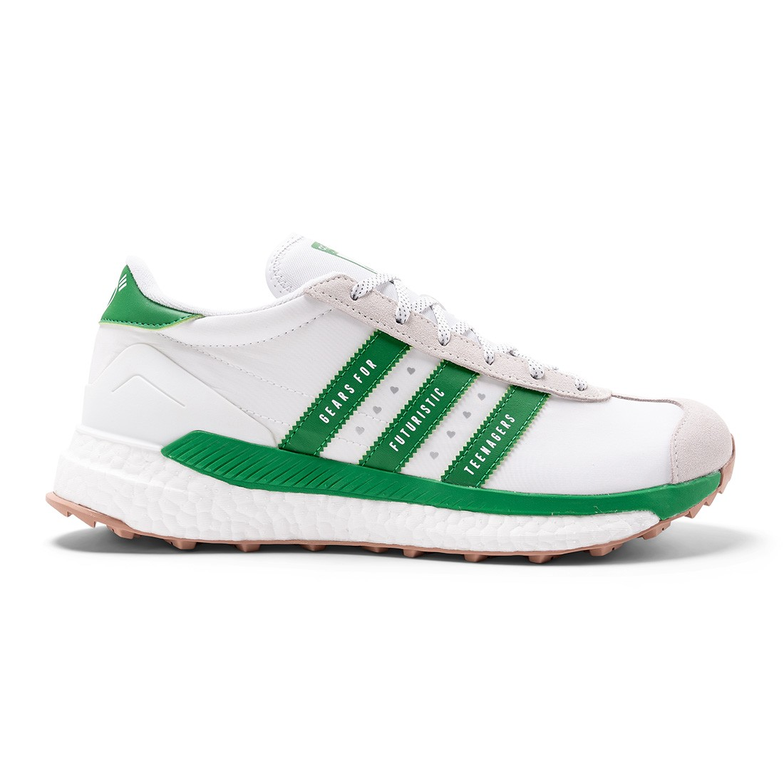 Adidas x Human Made Men Country (white / green / off white)